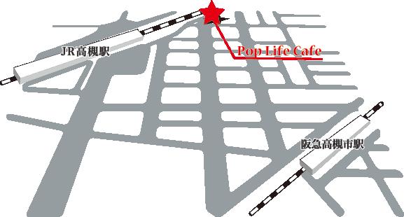 お店までの地図