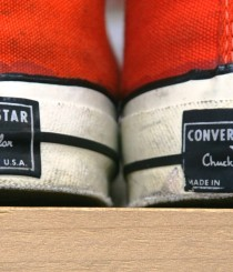 70's CONVERSE ALL STAR Chuck Taylor Hi ORANGE Size 12 ¥37,590-