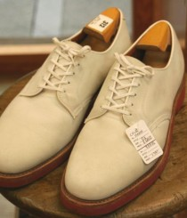 COLE・HAAN white bucks shoes size 9 1/2 ¥6800
